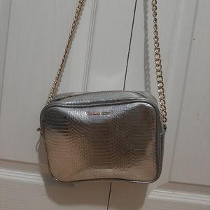 Leathered textured Victoria's Secret side bad
